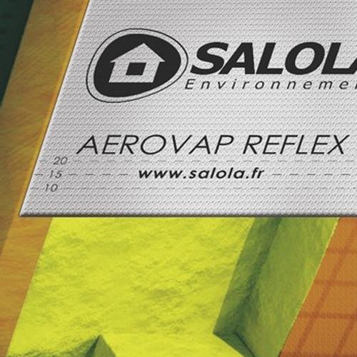 Écran pare-vapeur réfléchissants Aerovap Reflex