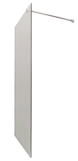 paroi de douche fixe italienne 8mm transparent 100 cm chrom prix net livr chez vous. Black Bedroom Furniture Sets. Home Design Ideas