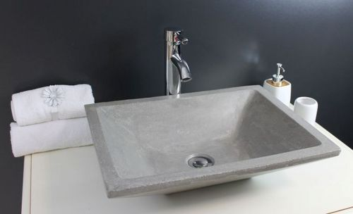 Bassin 42x42x14 cm en Verre dor/é /à Poser comptoir pour comptoir Lavabos de Salle de Bain 0515 Pool Lavabo de la Salle de Bain