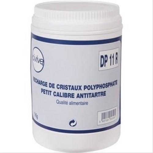 Recharge 1kg de cristaux polyphosphate pour filtre anti - Anti calcaire pour piscine ...