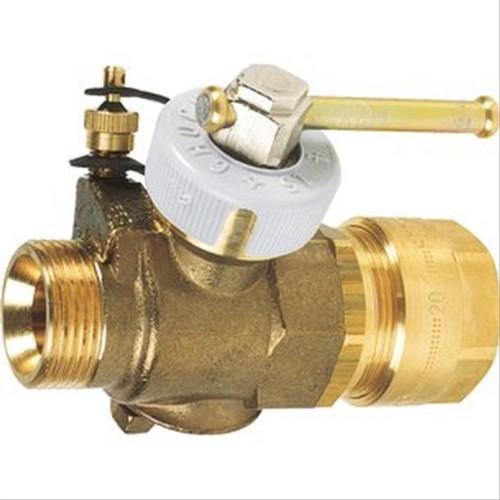 Robinet pour tube pe 20 filetage 3 4 39 39 pression max 5 for Robinet de gaz cuisine