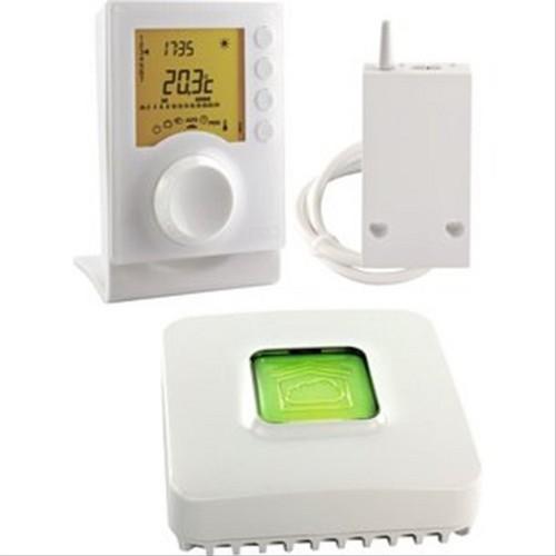 thermostat thermostat sans fil. Black Bedroom Furniture Sets. Home Design Ideas