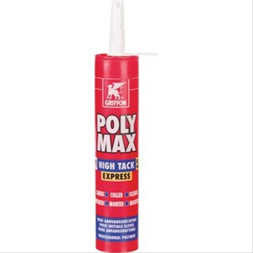 mastic polymax high tack express griffon blanc 435g d184211a mastic colle mastic colle polymax. Black Bedroom Furniture Sets. Home Design Ideas