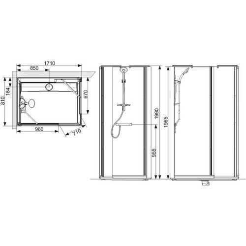 douche r novation. Black Bedroom Furniture Sets. Home Design Ideas