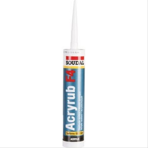 Mastic Soudal Acryrub F4 garnitures de joints