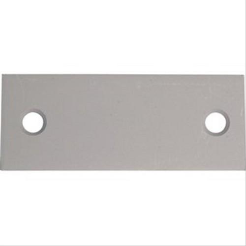 Contre plaque en t le galvanis e 100x40mm pour console d402008a fixation pour radiateur contre - Fixation tole ondulee galvanisee ...