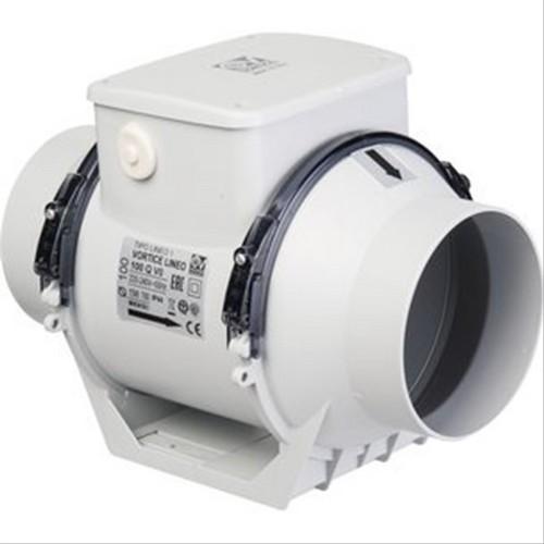 extracteur centrifuge en conduit lineo vortice xl100q d402683a extracteur d 39 air extracteur. Black Bedroom Furniture Sets. Home Design Ideas