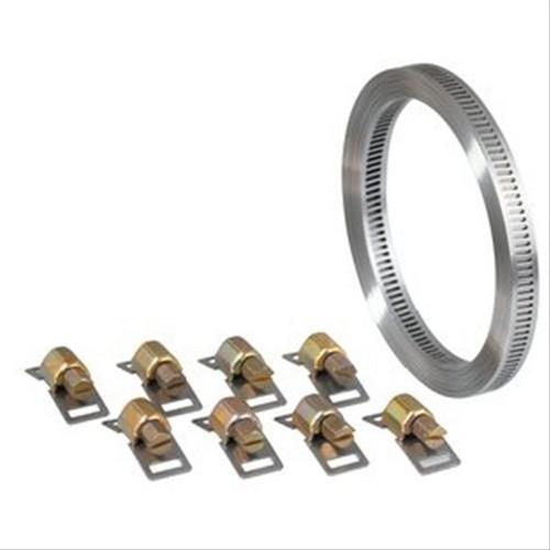 collier bande sans fin en acier zingu inox 3m largeur 8mm d590384a colliers collier bande. Black Bedroom Furniture Sets. Home Design Ideas
