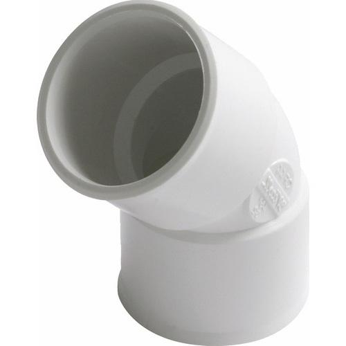 RACCORD PVC NICOLL BLANC