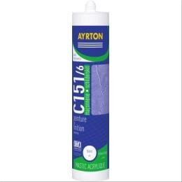 Mastic ma onnerie acrylique c151 6 acajou 300ml f333340a - Joint acrylique a peindre ...