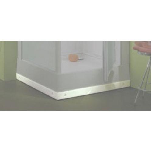 R hausse de cabine de douche izibox et surf 70x70cm leda - Accessoires pour douche ...