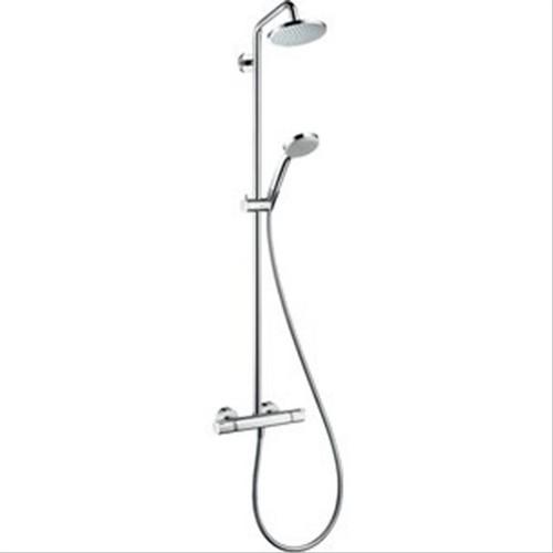 colonne de douche showerpipe croma 160 hansgrohe f450472a colonne de douche colonne de douche. Black Bedroom Furniture Sets. Home Design Ideas