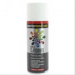 Peinture multi supports sintopeinture pro teinte ral 7035 gris clair brillant 400ml f453111a for Peinture gris brillant