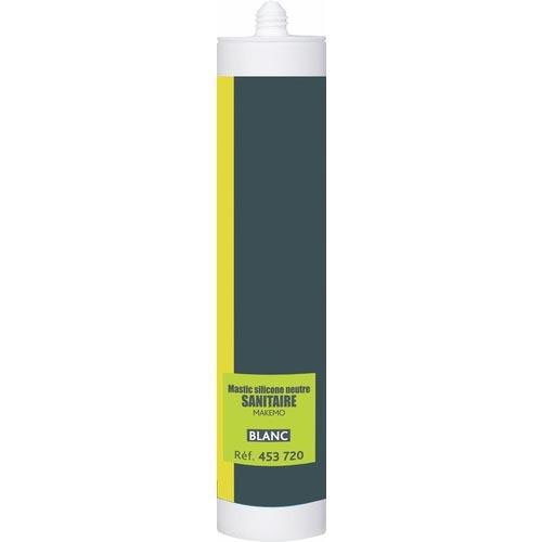 Mastic sanitaire silicone neutre Makemo P-Pro
