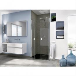 paroi de douche portes pivotantes smart ot 2p kinedo 97 5 101cm f505359a paroi de douche paroi. Black Bedroom Furniture Sets. Home Design Ideas