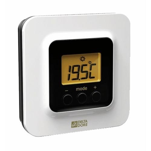 thermostat sans fil pack thermostat sans fil connect tybox 5100 delta dore. Black Bedroom Furniture Sets. Home Design Ideas