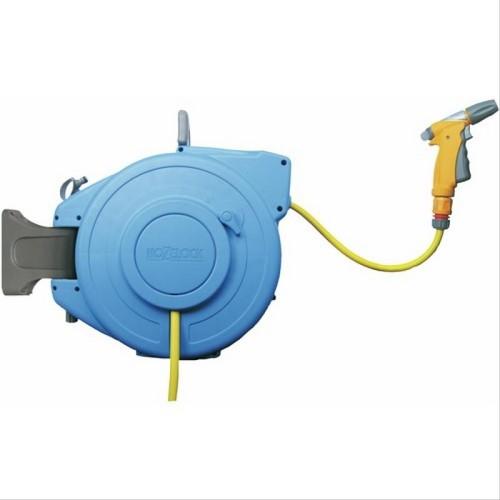 Support Enrouleur mural automatique pour tuyau d'arrosage