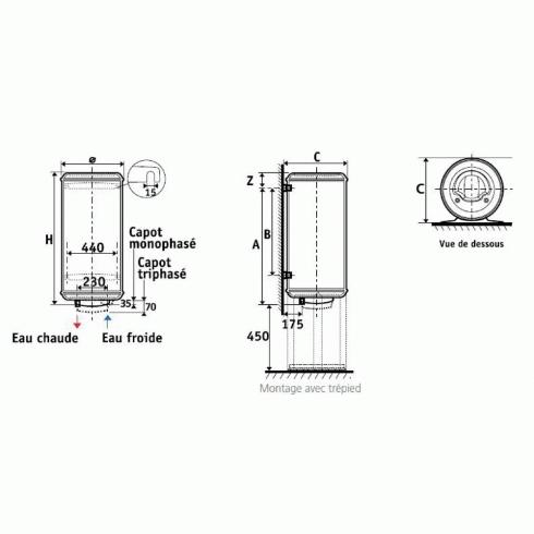 electrique atlantic chauffe eau atlantic vm blind. Black Bedroom Furniture Sets. Home Design Ideas