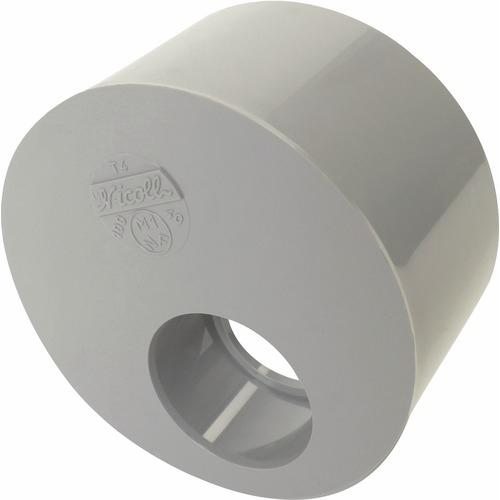 r duction pvc excentr e mf 125 100 nicoll f716241a nicoll r duction excentr e 1 trou. Black Bedroom Furniture Sets. Home Design Ideas