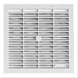 grille carr e nicoll b104 sans moustiquaire 154x154mm. Black Bedroom Furniture Sets. Home Design Ideas
