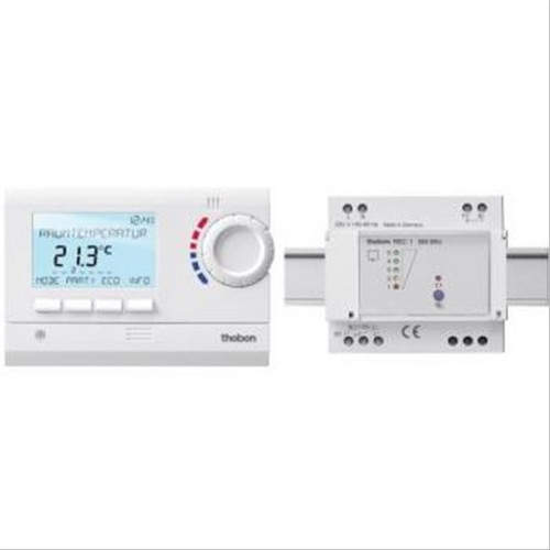 Thermostat digital programmable sans fil ram 833 top2 hf - Thermostat programmable sans fil ...