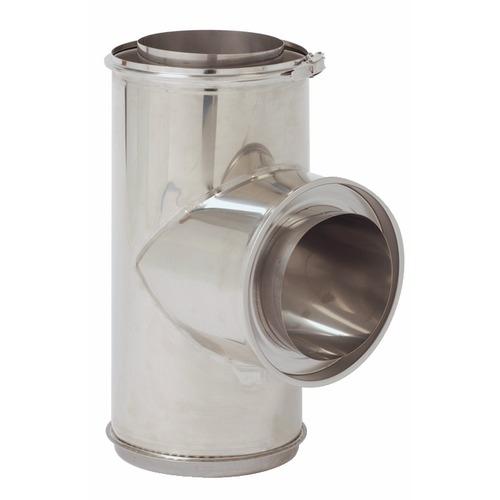 Tubage inox double paroi opsinox