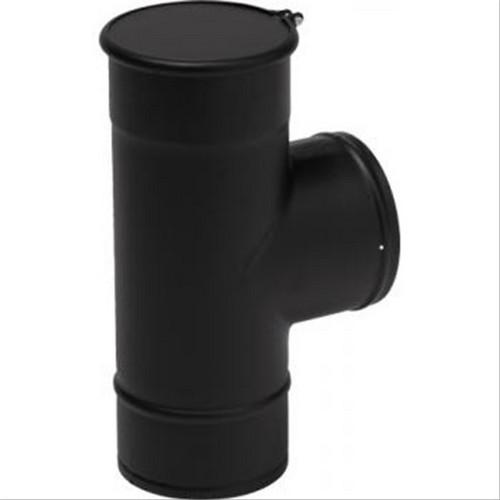tubage maill noir rigide t querre mail noir mat avec tampon. Black Bedroom Furniture Sets. Home Design Ideas