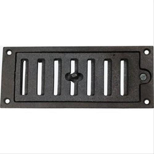 grille en fonte r glable 175x73mm q364064a ventilation. Black Bedroom Furniture Sets. Home Design Ideas