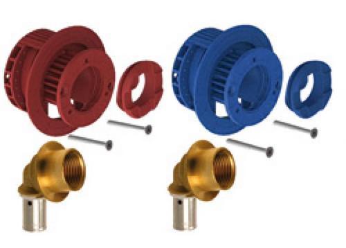 Raccord per a sertir rf p pro - Fixation radiateur placo ...