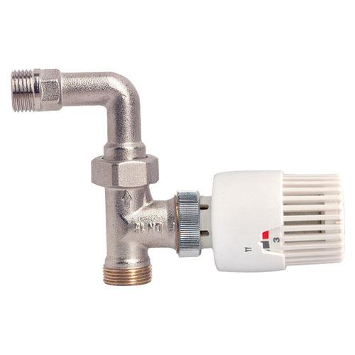 Robinet droit avec coude thermostatique s rie 3 4 ek m1 2 15 21 avec t te thermostatique 3 - Robinet thermostatique droit ...