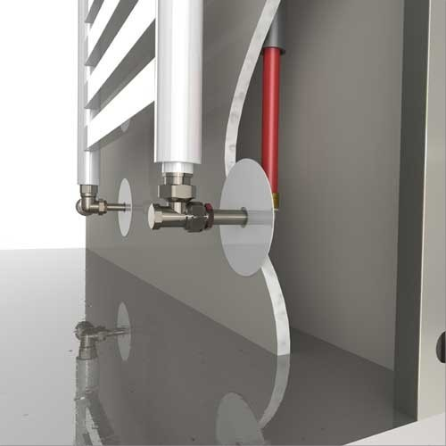 Kit raccordement s che serviette sertir 12 per 14 cuivre skitetss12 rad - Branchement radiateur eau chaude ...