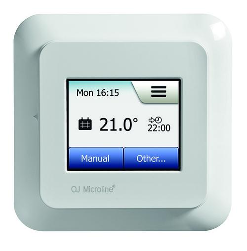 thermostat d 39 ambiance pour plancher chauffant type mxc encastr t9085336a r gulation plancher. Black Bedroom Furniture Sets. Home Design Ideas