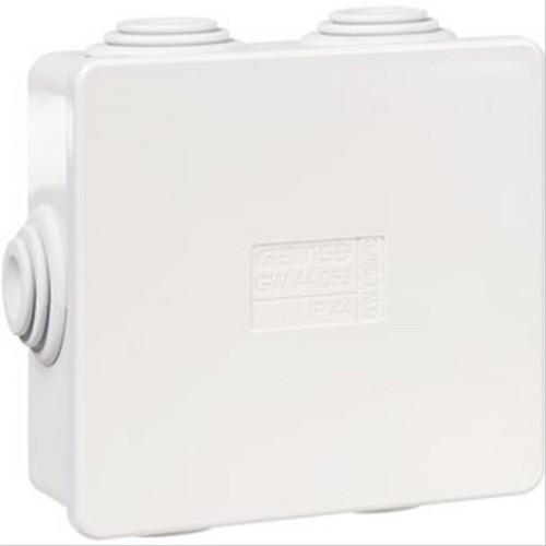 Boite carrée avec passe-fil IP44
