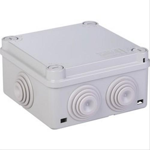Boite carrée avec passe-fil IP55