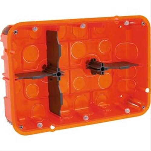 Boite d'encastrement Legrand multimatériaux 2x3 postes