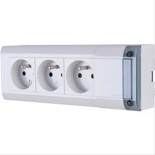 Bloc multiprises d 39 installation fixables 4p legrand - Bloc prise legrand ...