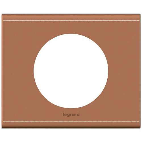 plaque mati re cuir camel c liane legrand 1p w404909a c liane plaque de finition mati re c liane. Black Bedroom Furniture Sets. Home Design Ideas